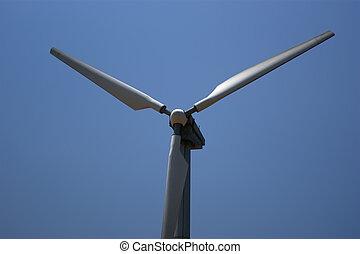 農場, 渦輪, 能量, -, 來源, 選擇, 風
