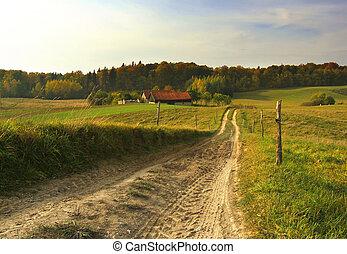 農場, 路