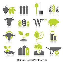 農業, 圖象