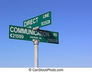 通訊, 直接