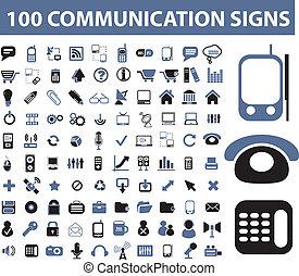 通訊, 簽署, 100