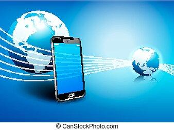 通訊, 電話, 全球, 數字