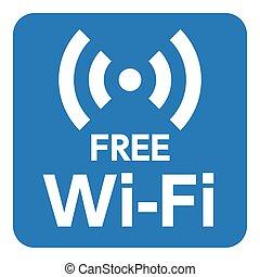 連接, 圖象, wi-fi, 網際網路, 無線, 背景, 白色, 网絡, 矢量, 被隔离