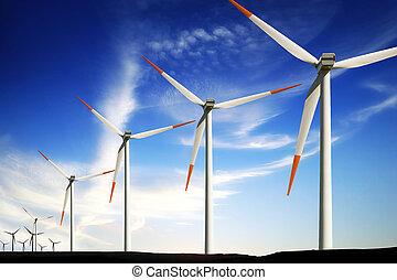 選擇, 渦輪, 能量, 風農場