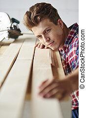 部分, 板條, 木匠, 木制, measuers