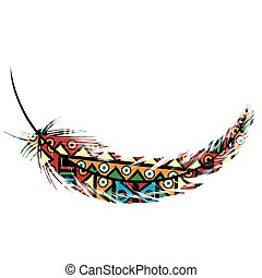 部落, 羽毛, 主題, 种族