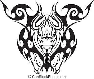 部落, 風格, 公牛