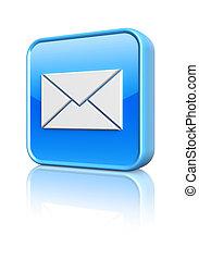 郵件, 按鈕