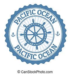 郵票, 太平洋