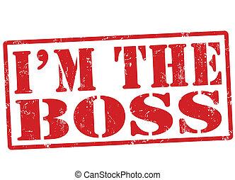 郵票, 我是, 老板
