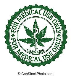 郵票, 醫學, 大麻