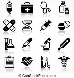 醫學, 集合, 反映, 圖象