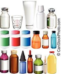 醫學, 集合, 容器