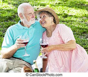 野餐, 酒, 前輩