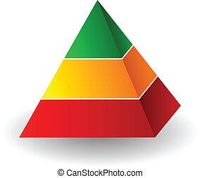 金字塔, 插圖