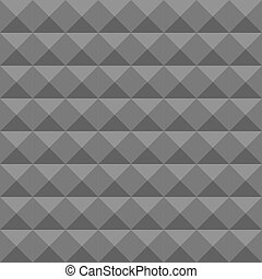 金字塔, 泡沫, pattern., 牆, 結構, seamless, soundproofing., 矢量, 聲學, 幾何學