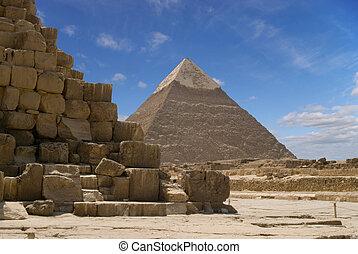 金字塔, chefren