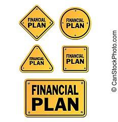 金融計划, 簽署