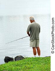 釣魚, 人