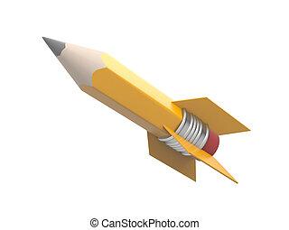 鉛筆, 形式, 火箭