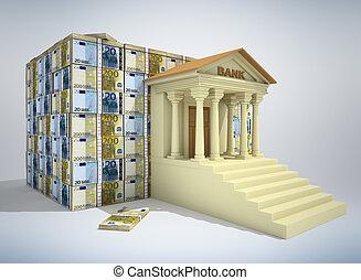 銀行業務, 概念, 3d