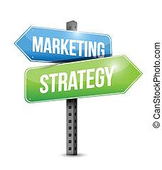 銷售, 插圖, 戰略, 設計, 簽署, 路