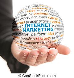 銷售, 概念, 事務, 網際網路