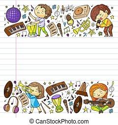 鋼琴, subscribtion, karaoke., 唱, downloading., 歌曲, 學習, internet., 在網上, 怎樣, 音樂, 玩, 教育, 音樂, 吉他