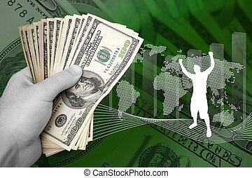 錢, 事務, 成功
