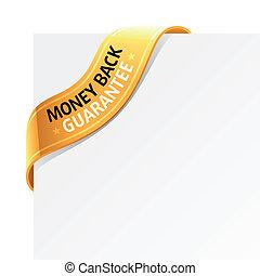 錢, 保證, 背, 簽署