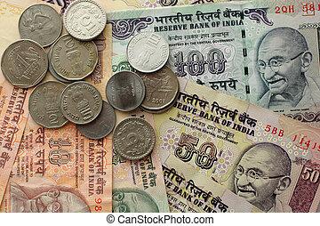 錢, 印第安語