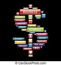 錢, 戰略, 生意 簽署
