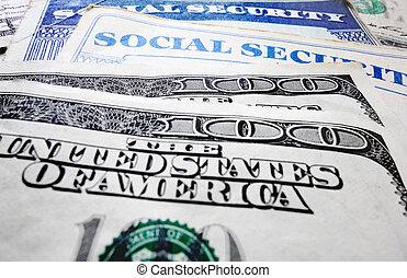 錢, 社會保險卡片
