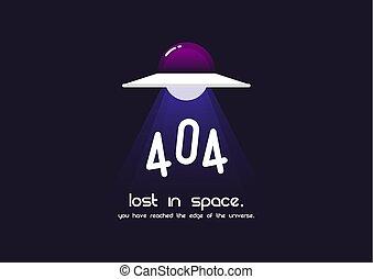 錯誤, 404, 頁