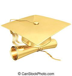 鍍金, 畢業