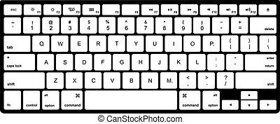 鍵盤計算机, 現代, 被隔离