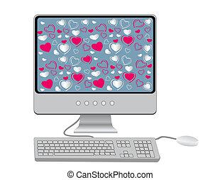 鍵盤, 監控, 老鼠