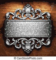 鐵, 木頭, 裝飾品