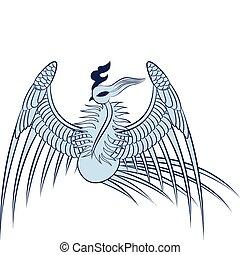長生鳥, 插圖