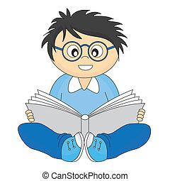 閱讀, 愉快, 孩子