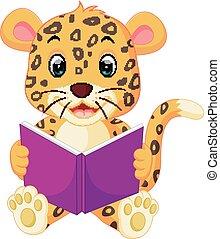 閱讀, 豹, 書