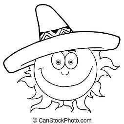 闊邊帽, 微笑太陽, 概述