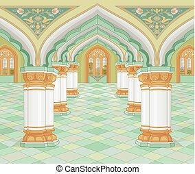 阿拉伯語, 宮殿