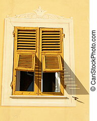 陽光普照, 窗口, retro