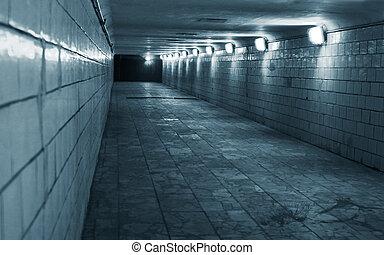 隧道, 城市, 城市