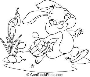 隱藏, 復活節bunny, 蛋