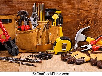 集合, 工具, 工作