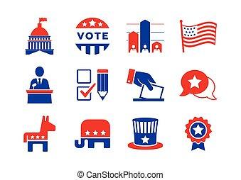 集合, 政治, 圖象