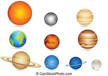 集合, 行星