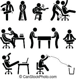 雇員, 樂趣, 工人, 辦公室
